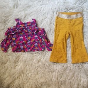 Genuine by OshKosh Retro Top & Bell Bottom Outfit